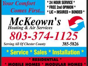 McKeowns Heating and Air Services