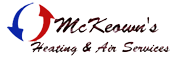 McKeowns Heating and Air Services Logo